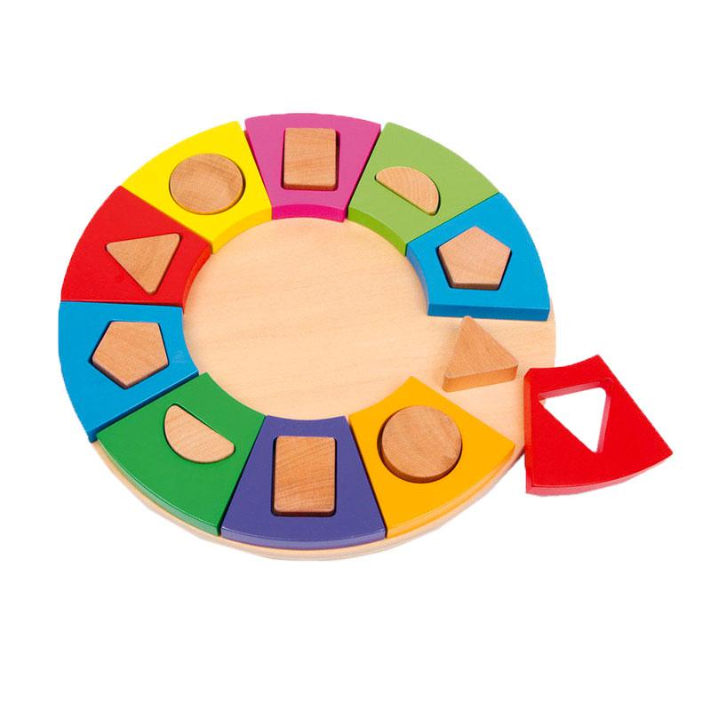 Cerc simboluri geometrice Evertoys