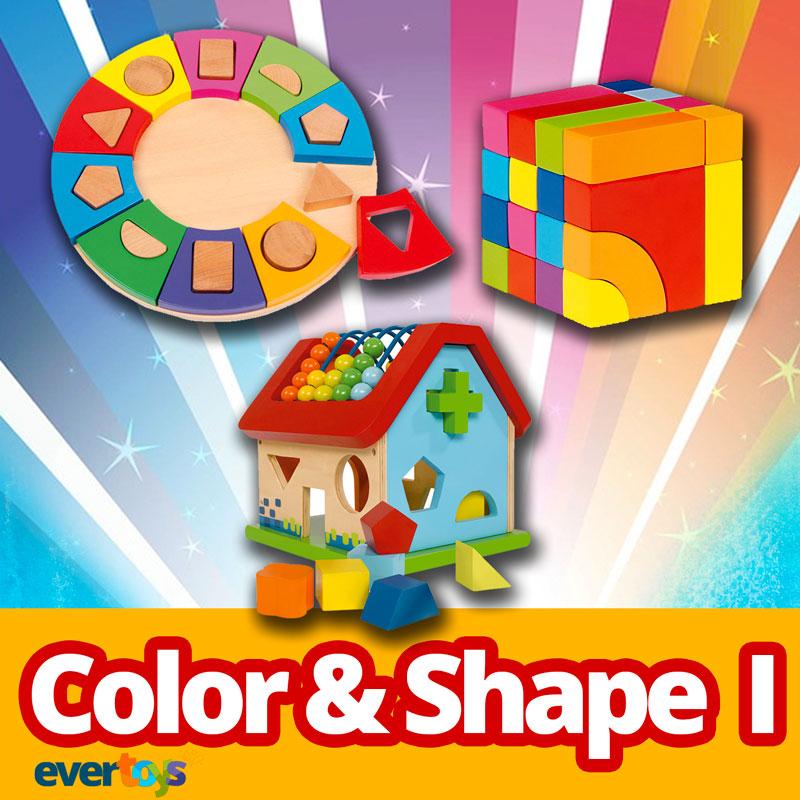 Evertoys Edubox Color and Shape.