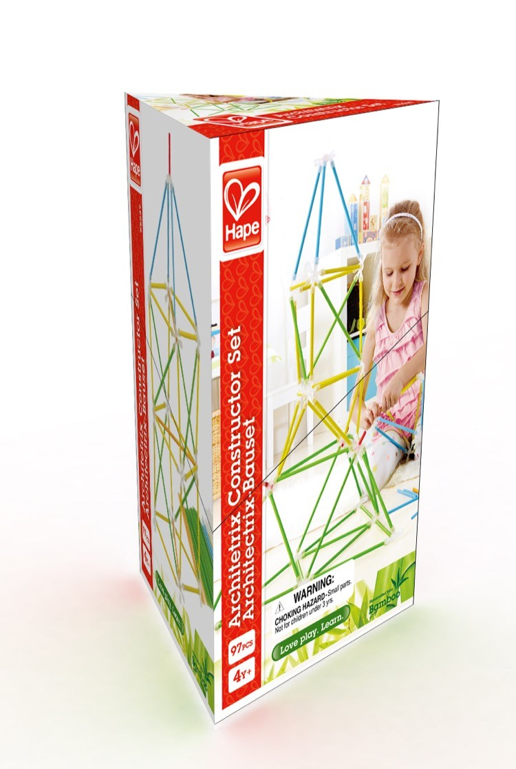 Hape Architetrix set constructie bambus 1