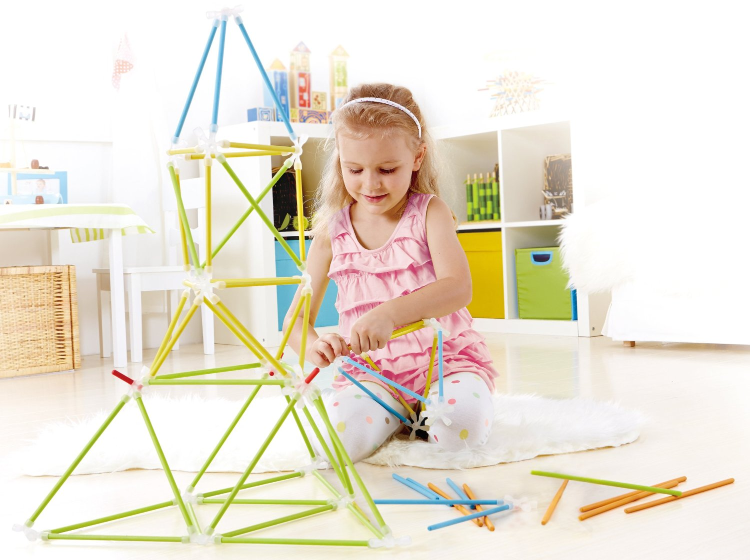 Hape Architetrix set constructie bambus 2