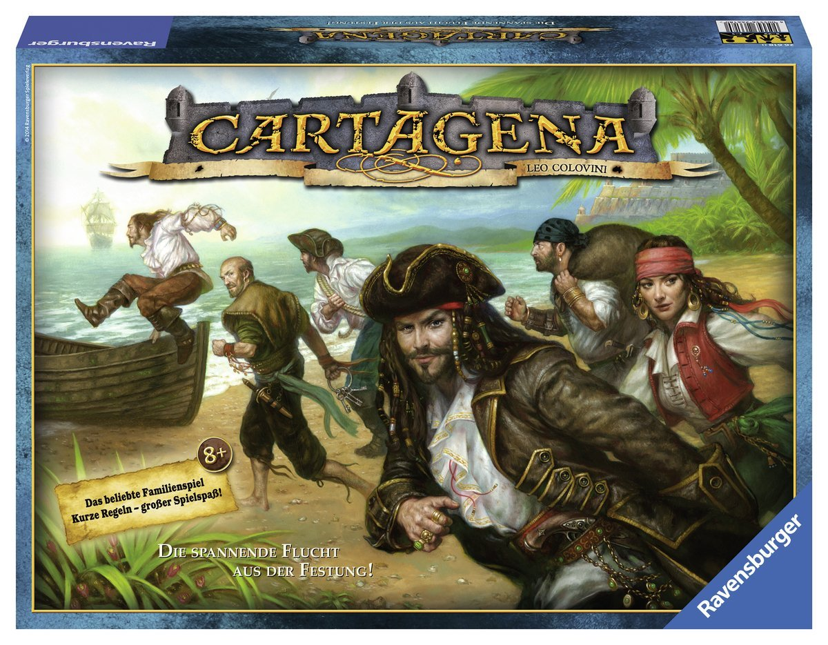 Cartagena Ravensburger Boardgame