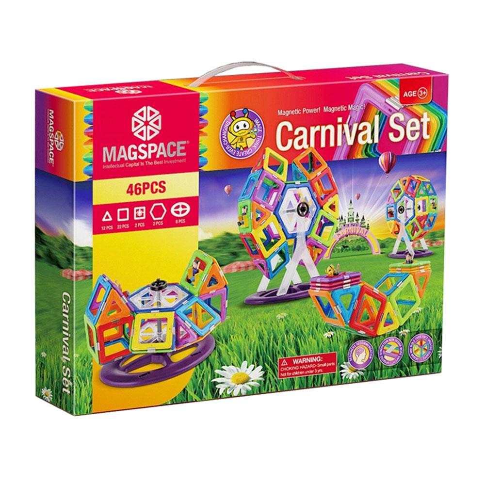 3D-Magspace-Carnival-Parcul-de-Distractii-jucarie-magnetica