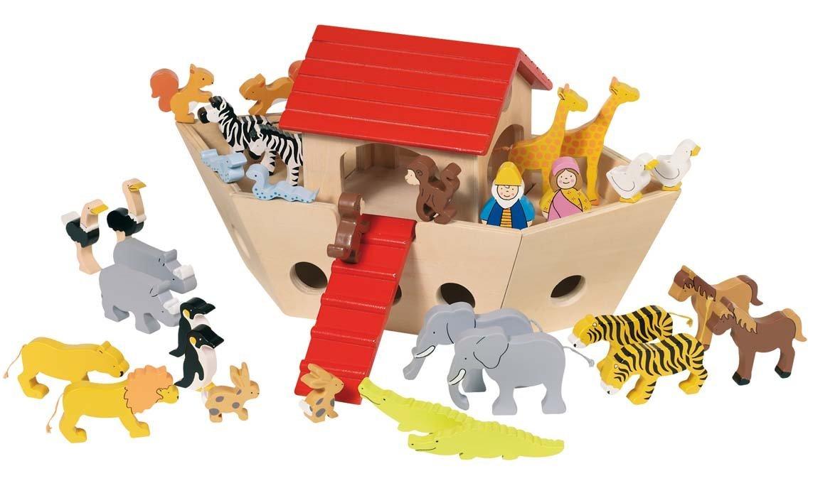 Arca lui Noe (lemn masiv) 3