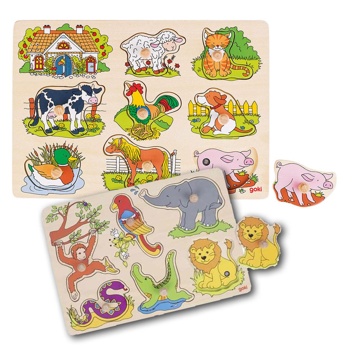 Puzzle-lemn-cu-sunete-animale-jucarie-lemn-premium-Goki