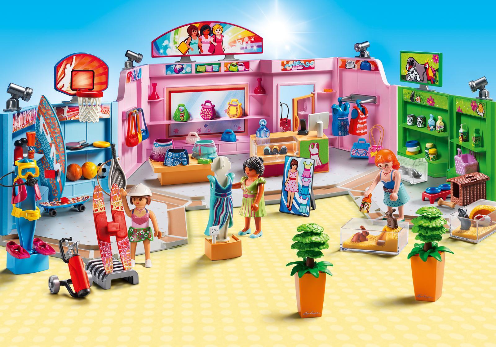 Centru comercial - PLAYMOBIL City Life - PM9078 - 1