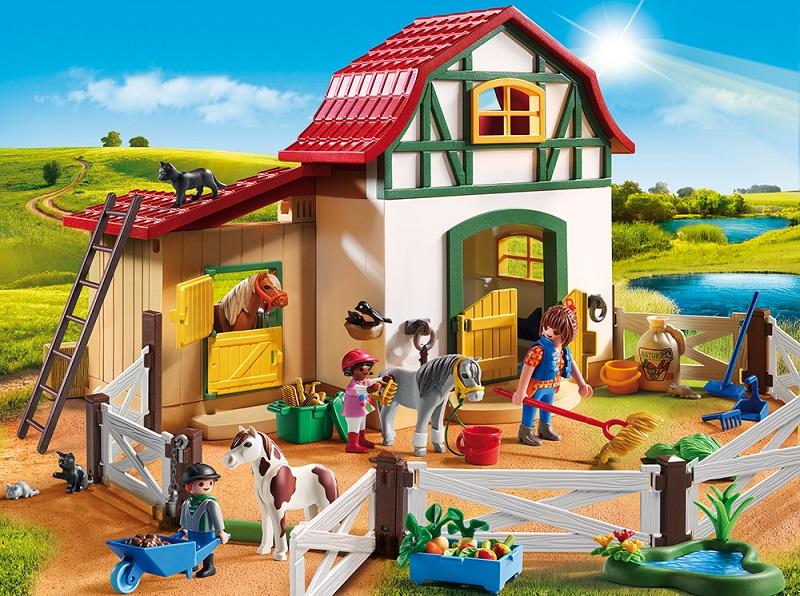 Ferma-Poneilor-PM6927-Playmobil-Pony-Farm-2