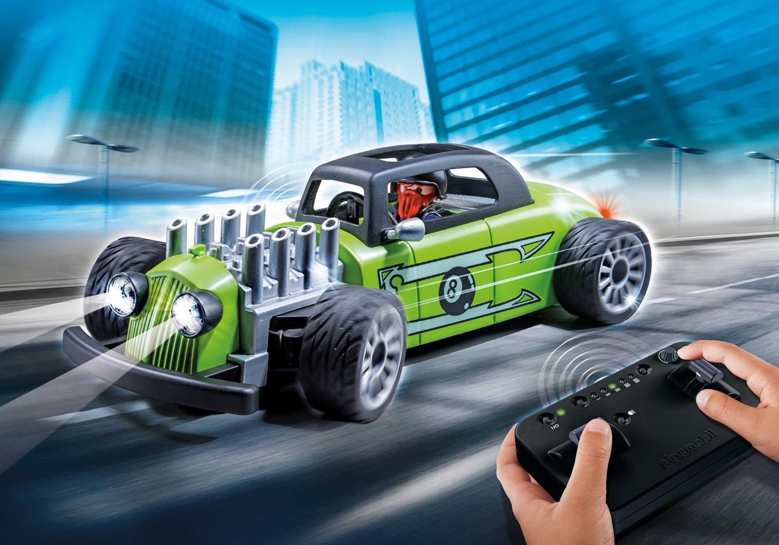 Masina-de-curse-cu-telecomanda-verde-PM9091-Playmobil-SportsAction-1
