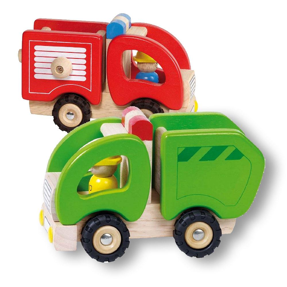 bundle-masina-pompieri-si-camion-jucarii-lemn-premium-Goki