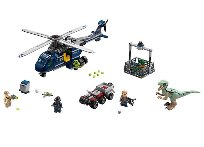 Urmarirea-elicopterului-albastru-75928-LEGO-Jurassic-World