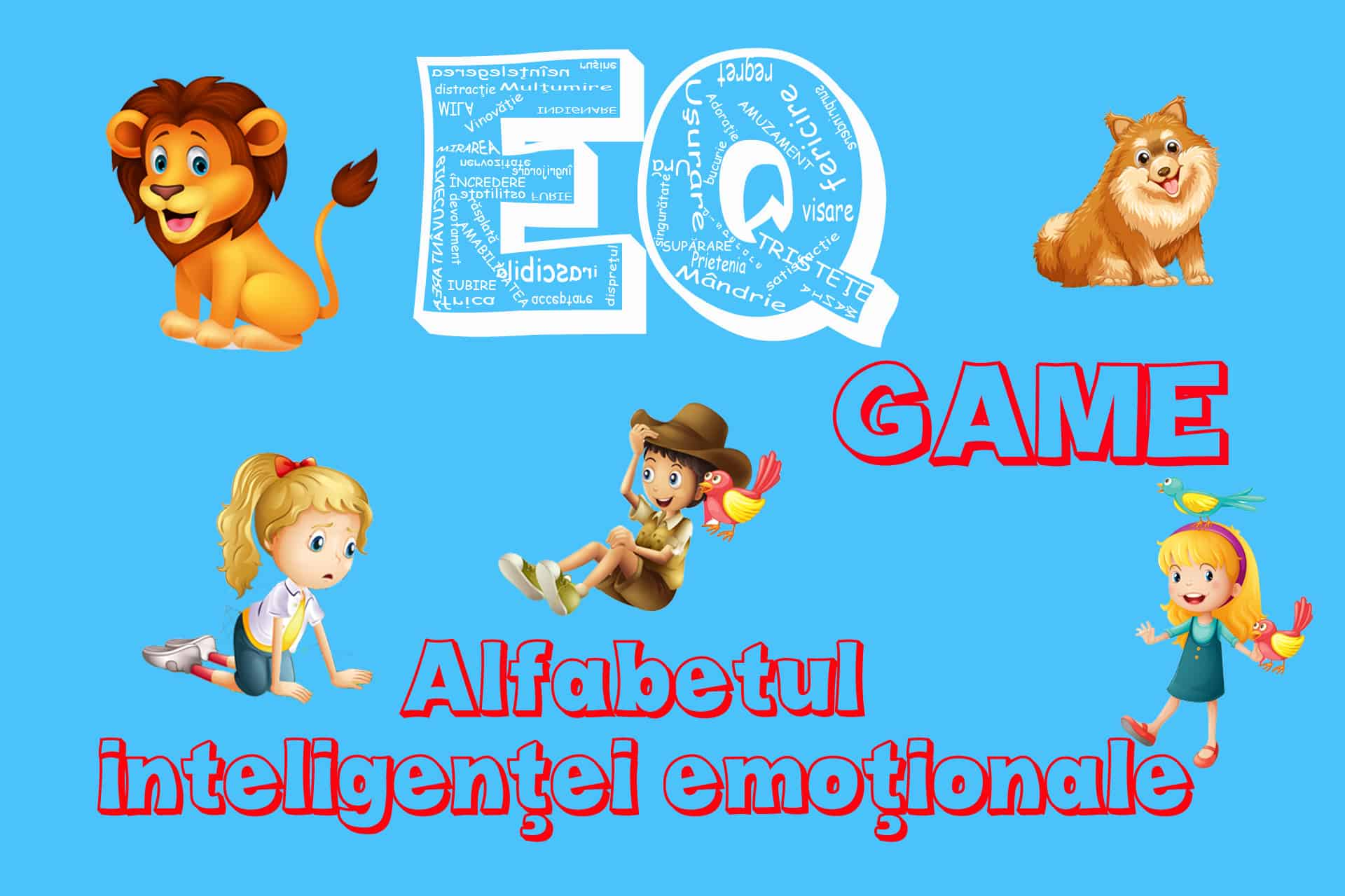Alfabetul inteligentei emotionale - EQ Game - Tikaboo