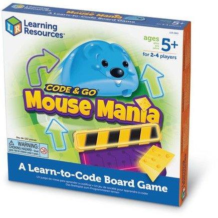 Mouse Mania - Cursa soricelului - jucarie STEM - coding - Learning Resources UK