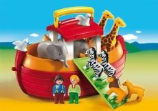 Arca lui Noe portabilă - PLAYMOBIL 1. 2. 3. - 6765