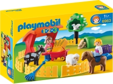 1.2.3 Animale la Zoo - PLAYMOBIL 1.2.3 - PM6963