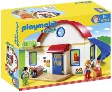 Casa din suburbie - PLAYMOBIL 1. 2. 3. - 6784
