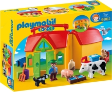 1.2.3 Set Mobil Ferma - PLAYMOBIL 1.2.3 - PM6962
