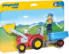 1.2.3 Tractor cu Remorca - PLAYMOBIL 1.2.3 - PM6964