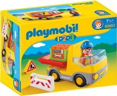 Camion de construcţii - PLAYMOBIL 1. 2. 3. - 6960