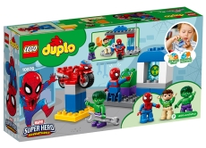 Aventurile lui Spider-Man şi Hulk - LEGO DUPLO (10876)