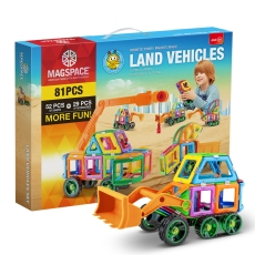 3D Magspace - Land Vehicles - Vehicule 4x4