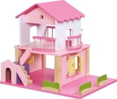 Căsuţa Păpuşi Pink