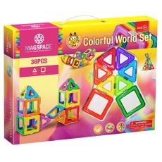 3D Magspace - Colorful World - O Lume Plină de Culori