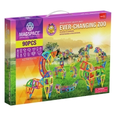 3D Magspace - Ever-Changing Zoo - Un Zoo Magnetizat
