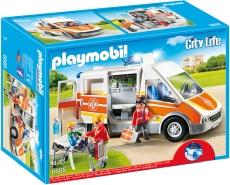 AMBULANTA CU LUMINI SI SUNETE - PLAYMOBIL City Life Kids Clinic - PM6685