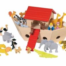 Arca lui Noe - Set Lemn