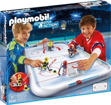 Arena pentru Hochei pe Gheaţă - PLAYMOBIL Ice Hockey - 5594