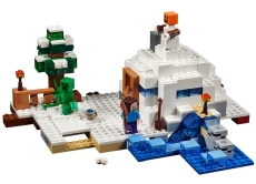 Ascunzisul din zapada (21120) - LEGO Minecraft
