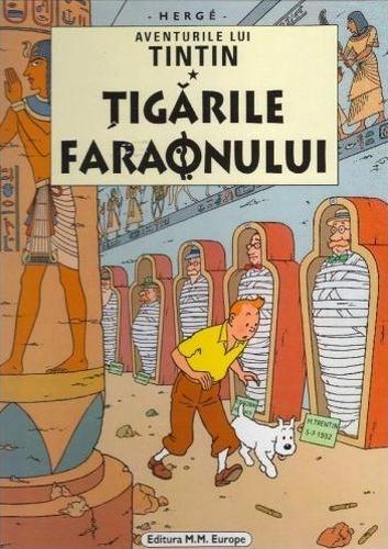 Aventurile lui Tintin - Ţigările Faraonului
