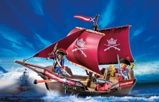 Barca Soldatilor cu Tun - PLAYMOBIL Pirates - PM6681