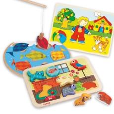3x Puzzle Lemn - Bundle Animale Haioase 2