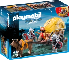 Cavaleri Şoim cu trăsură camuflată - PLAYMOBIL Knights - 6005