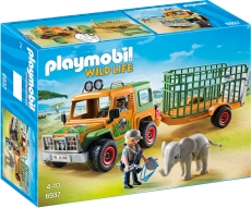 Camion Forestier si Elefant - PLAYMOBIL Safari - PM6937