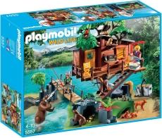 Casa din copac - PLAYMOBIL Wild Life - 5557