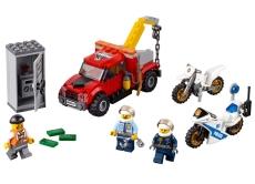 Cazul camionul de remorcare (60137) - LEGO City