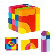 Cub Puzzle Colorat