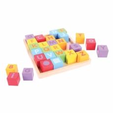 Cuburi colorate ABC