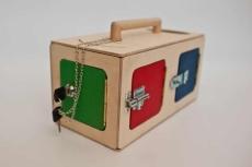 Cutie Senzorială cu 2 compartimente