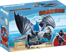 DRAGO SI THUNDERCLAW - PLAYMOBIL Dragons - PM9248