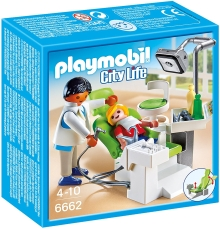 Dentist cu Pacient - PLAYMOBIL City Life - 6662