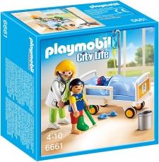 Doctor şi Copil - PLAYMOBIL City Life - 6661