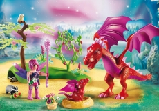 Dragonul prietenos cu puiul sau - PLAYMOBIL Fairies - PM9134