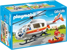 Elicopter medical de urgenţă - PLAYMOBIL Kid Clinic - 6686