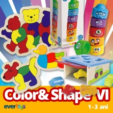 EduBox Color & Shape VI