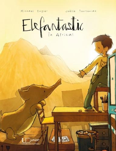 """""""Elefantastic în Africa"""" de Michael Engler, Joelle Tourlonias"""