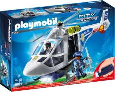 Elicopter de Politie cu Led - PLAYMOBIL Police - PM6921