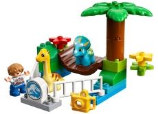 Grădina Zoo a uriaşilor blânzi LEGO DUPLO (10879)