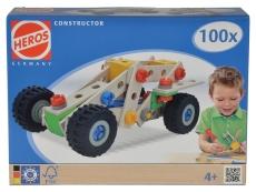 Heros Constructor Lemn - Vehicule - 100 piese